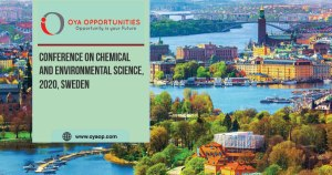 844th Conference on Chemical and Environmental Science, 2020, Sweden