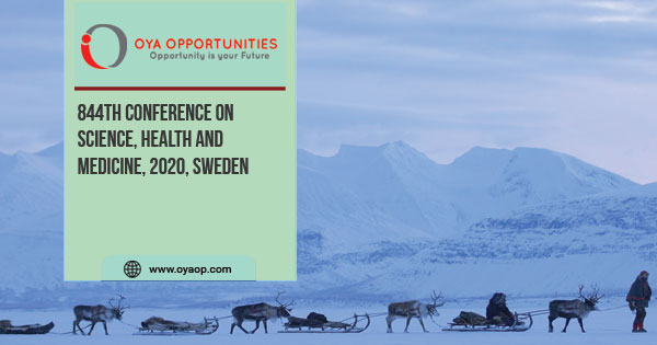 844th Conference on Science, Health and Medicine, 2020, Sweden