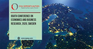 859th Conference on Economics and Business Research, 2020, Sweden
