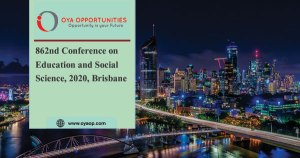 862nd Conference on Education and Social Science, 2020, Brisbane