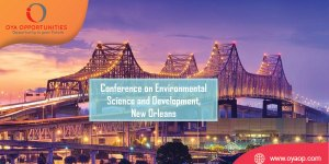 865th Conference on Environmental Science and Development, USA