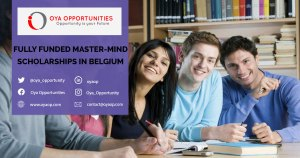Fully Funded Master Mind Scholarships in Belgium 2020-21