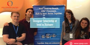 Designer Internship at Intel in Vietnam