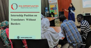 Internship on Translators Without Borders