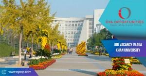 Job Vacancy in Aga Khan University