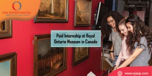 Paid Internship at Royal Ontario Museum in Canada