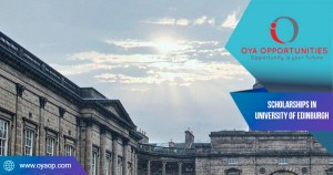 Scholarships in University of Edinburgh