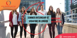 Summer Internship at Vodafone in London