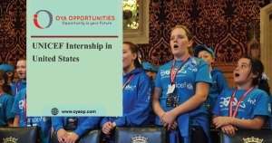 UNICEF Internship in United States