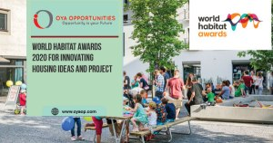 World Habitat Awards 2020 for Innovating Housing Ideas and Project
