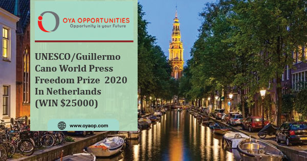 UNESCO/Guillermo Cano World Press Freedom Prize