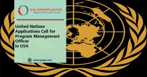 United Nations Application Call for Program Management Officer in USA