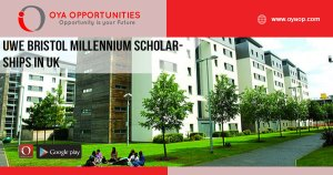 UWE Bristol Millennium Scholarships, 2020 in UK