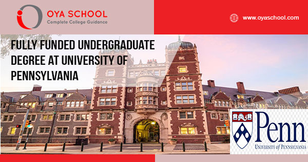 Fully Funded Undergraduate Degree at UPenn