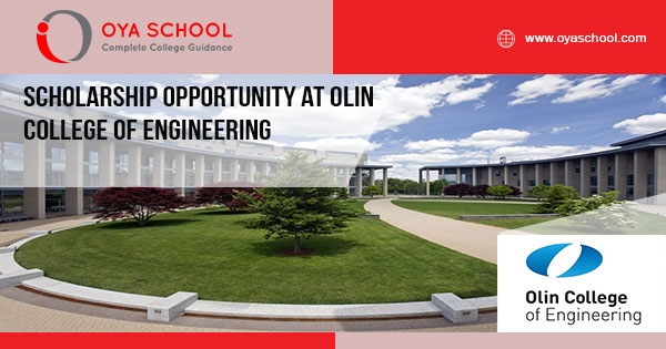 Scholarship Opportunity at Olin College of Engineering