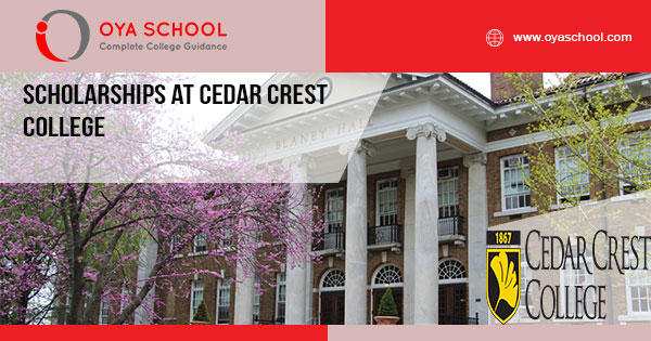 Scholarships at Cedar Crest College