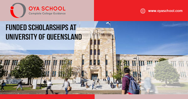Funded Scholarships at University of Queensland