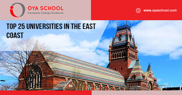 Top 25 Universities in the East Coast