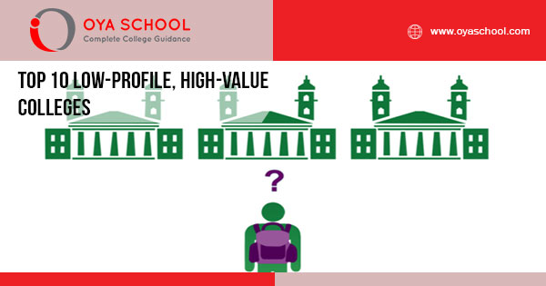 Top 10 Low-Profile, High-Value Colleges