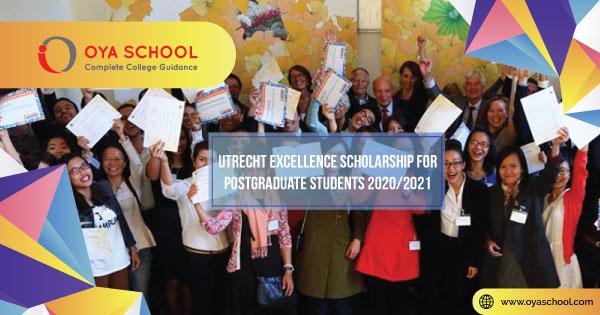 Utrecht Excellence Scholarship for Postgraduate Students 2020/2021