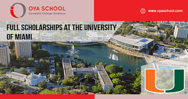 Full Scholarships at the University of Miami