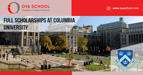 Full Scholarships at Columbia University