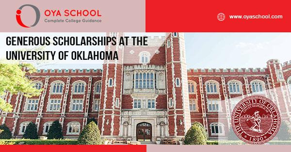 Generous Scholarships at the University of Oklahoma