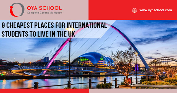 9 Cheapest Places for International Students to Live in the UK