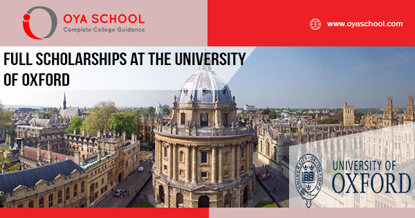 Full Scholarships at the University of Oxford