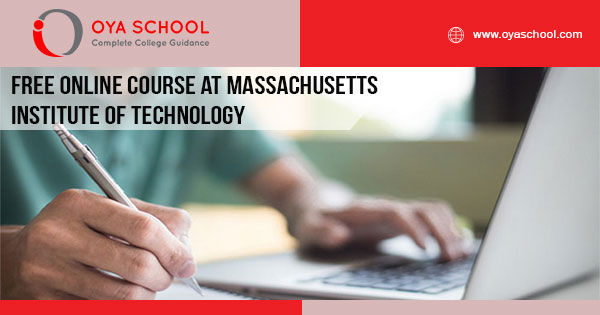 Free Online Course at Massachusetts Institute of Technology