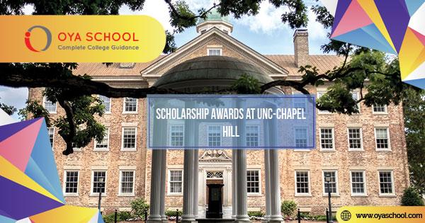 Scholarship Awards at UNC-Chapel Hill