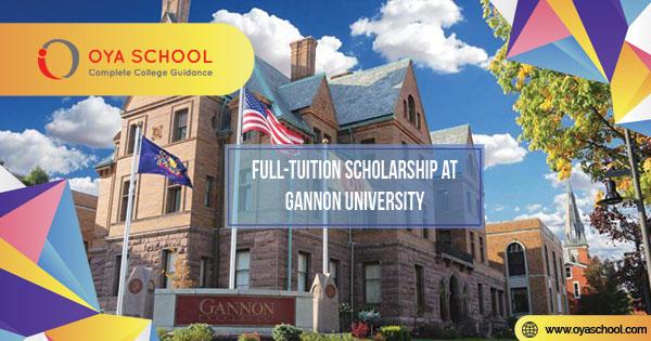 Full-Tuition Scholarship at Gannon University