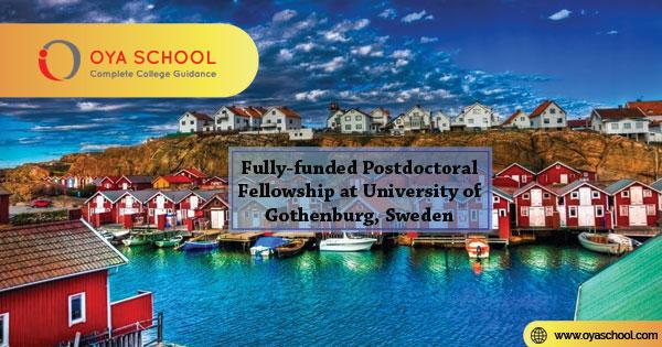 Postdoctoral Fellowship at University of Gothenburg, Sweden