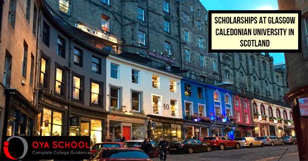 Scholarships at Glasgow Caledonian University in Scotland