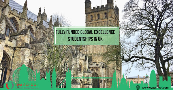 Global Excellence Studentships in the UK