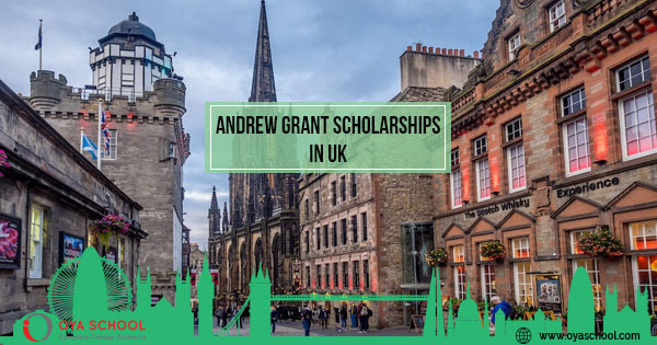 Andrew Grant Scholarships, UK-Edinburgh University