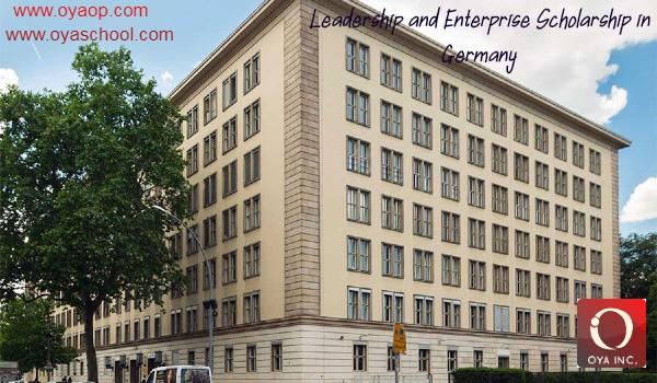 Leadership and Enterprise Scholarship in Germany