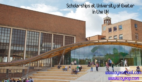 Scholarships at University of Exeter in the UK