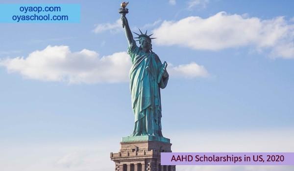 AAHD Scholarships in US