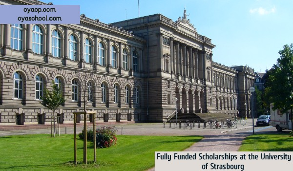 Fully Funded Scholarships Strasbourg