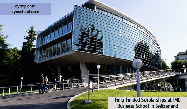 Fully Funded Scholarships at IMD Business School