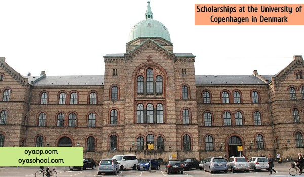 Scholarships at the University of Copenhagen in Denmark