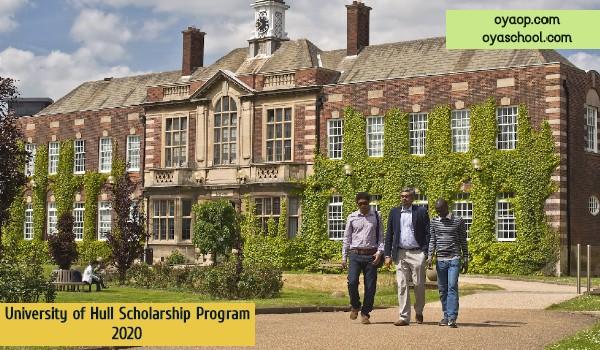 University of Hull Scholarship Program 2020