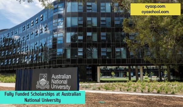 Fully Funded Scholarships at Australian National University