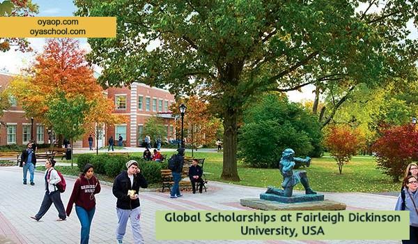 Global Scholarships at Fairleigh Dickinson University, USA