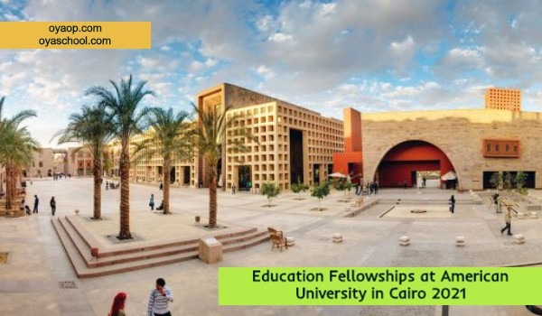 Education Fellowships at American University in Cairo 2021