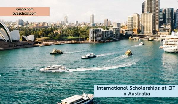 International Scholarships at EIT in Australia