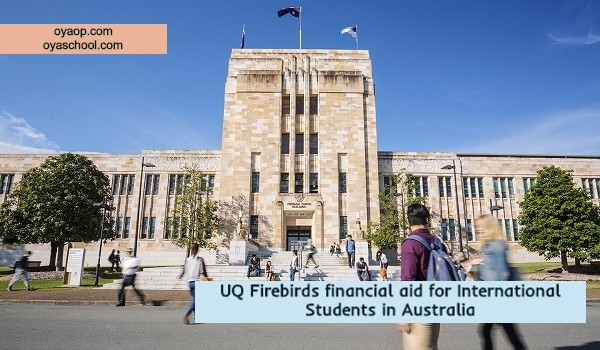 UQ Firebirds financial aid for International Students in Australia