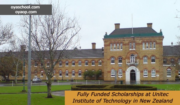 Fully Funded Scholarships at Unitec Institute of Technology in New Zealand