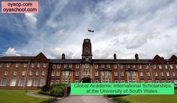 Global Academic International Scholarships at the University of South Wales